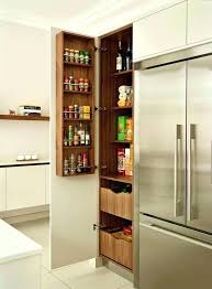 Wall Mount Spice Cabinet With Doors Retracting Cabinet Doors Retractable Kitchen Cabinet Door Inspired