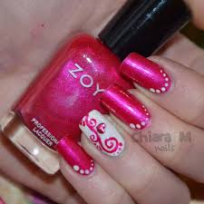pink and white nails beautiful white and pink nail art