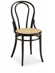 chaise bistrot chaise bistrot en hêtre assise cannage mécanique
