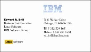 Ibm Business Card Template 46 fresh photos of ibm business card business card designs ideas