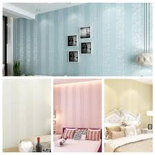 wholesale living room wall papers striped wallpaper pink bule