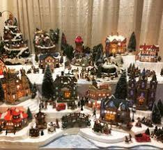christmas villages how to set up a christmas christmas ideas