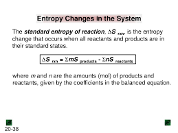 Standard Entropy Change Table New Chm 152 Unit 6 Power Points Sp13