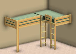 L Shaped Loft Bed Plans Double Loft Bed Plans Ainsley U0027s Room Pinterest Double Loft