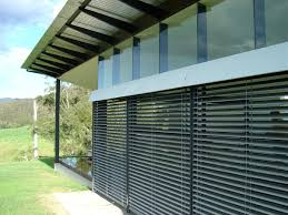 advantages of wooden blinds for balcony outdoor singapore window
