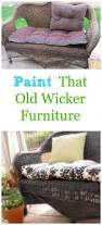 Can You Paint Wicker Chairs Best 25 Old Wicker Chairs Ideas On Pinterest Painting Wicker