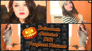 Halloween Costumes Pregnant Women Diy Halloween Costume Prisoner Escape Pregnant Women