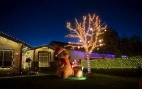 you can catch the yucaipa christmas lights show through new year u0027s