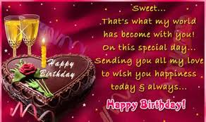 my special wish for you happy birthday wishes card next greetings