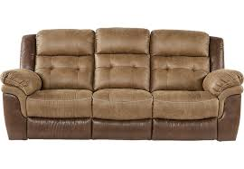 Montis Sofa Montiglio Brown Power Reclining Sofa Reclining Sofas Brown