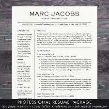 Microsoft Office Resume Templates For Mac Modern Resume Template Cv Template For Word Mac Or Pc