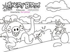 angry birds color angry birds space game coloring pages
