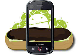android eclair android 2 1 update for the motorola cliq now available android