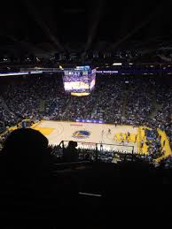 Oracle Arena Map Oracle Arena Section 215 Golden State Warriors Rateyourseats Com