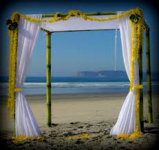 wedding arches bamboo bamboo island wedding canopy arc de miami south florida los