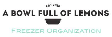one organization freezer organization a bowl full of lemons