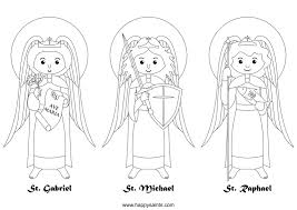 saint coloring pages for kids download 7442