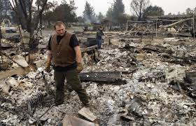 Wildfire Ash Car Wash by Winds Whip New Terror Into Deadly California Wildfires The