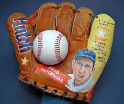 Hutch Baseball Gloves Fred Hutchinson Baseball Glove Painting U2014 Sean Kane Baseball Art