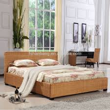 Designer Bedroom Furniture Collections Premium Quality Designer 5 Star Resort Rattan Hotel Bedroom