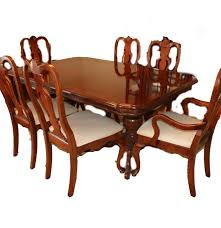 lexington cherry dining table and chairs ebth