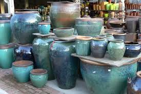 glazed ceramic pots lieberman pottery glazed ceramic pots eclectic outdoor planters
