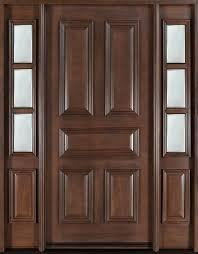 Wood Door Exterior Interior And Exterior Doors Wood Medium Density Fiberboard