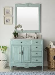 Turquoise Bathroom Vanity Light Blue Daleville Bathroom Vanity W Mirror Hf 837lb Bs Mir