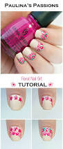 paulinas passionsroses nail art tutorial pink roses with a mint