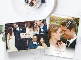 thank you cards wedding wedding thank you cards with photos 48hr delivery optimalprint