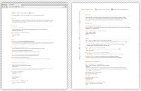 Resume Templates Html 25 Free Html Resume Templates For Your Successful Online Job