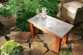 How To Make A Concrete Table by How To Build A Concrete Table Australian Handyman Magazine