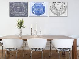 set of any 3 sports seating chart prints for 1 price photo paper