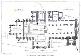 file dublin st patrick u0027s cathedral plan jpg wikimedia commons
