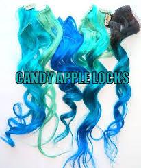 mermaid hair extensions best 25 mermaid hair extensions ideas on blue hair