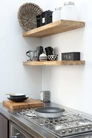 etageres cuisine idée décoration cuisine avec rangements ouverts