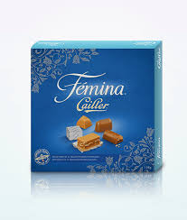 box de cuisine cailler femina praline กล อง 125 g swissmade direct