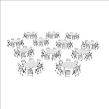 lifetime 6 commercial grade stacking folding table select color lifetime 12 60 inch round stacking tables and 96 chairs combo