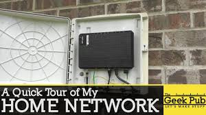 Home Network Design Switch Tour Of My Home Network Youtube