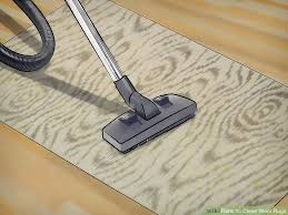 How To Clean Kilim Rug How To Clean Wool Rugs 12 Steps With Pictures Wikihow