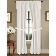 Tie Back Kitchen Curtains by Curtains With Attached Valances