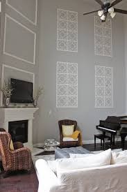 Blank Bedroom Wall Ideas A Little Of This A Little Of That Decorating A Two Story Wall