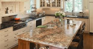 what is the newest trend in kitchen countertops kitchen countertop trends for 2016 knc granite maryland
