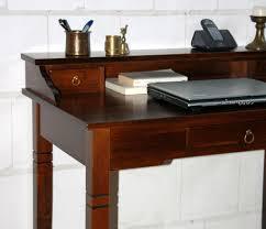 Schreibtisch Dunkelbraun Schreibtisch Holz Massiv Daredevz Com