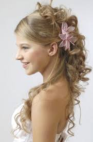 beautiful prom hairstyles for long hair side view 2017