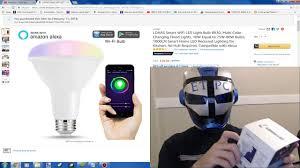 wifi led recessed lights lohas smart wifi led light bulb unboxing youtube