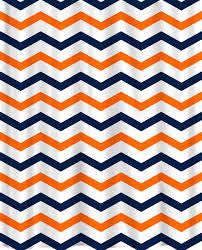 Yellow And Navy Shower Curtain Custom Colors Shower Curtain Chevron Navy Orange And White Design