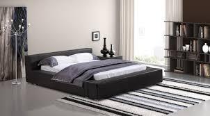 Modern Queen Size Bed Frame Zuo Modern 800240 Zuo Modern Alpha Queen Size Bed Black
