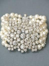 crystal pearl bracelet images Until sept 5 bridal bracelet vintage style bridal crystal pearl jpg