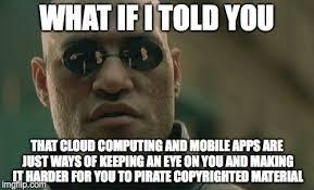 Meme Making Apps - matrix morpheus meme imgflip